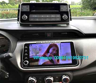 Nissan Micra 2017 radio Car android wifi GPS navigation camera